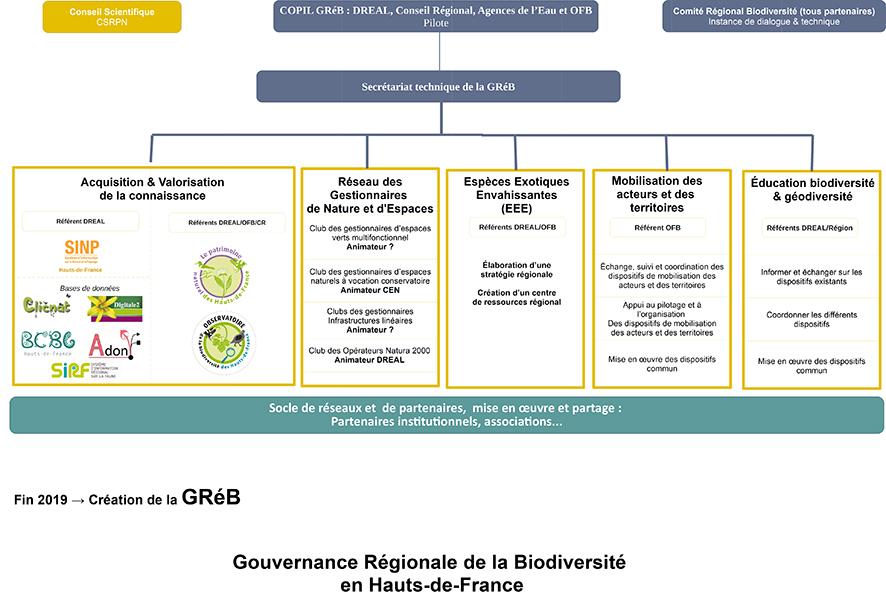 schema organisationnel GrèB