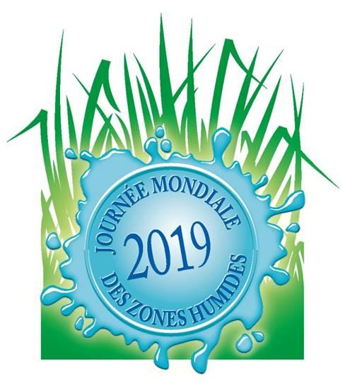 Sceau Journée mondiale des zones humides 2019